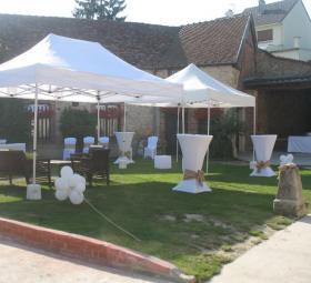 Réception de mariage au Domaine de Miltat à Pierry - Vin d'honneur