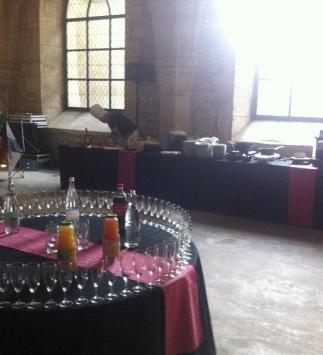 Cocktail au Palais du Tau