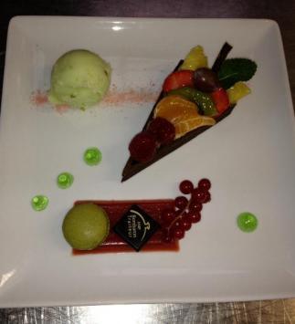 Tutti Frutti de Fruits de Saison, Gelée d'Orange Sanguine