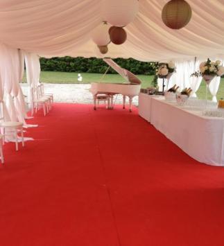 Réception de mariage au Château de Nizy-le-comte - Vin d'honneur