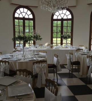 Réception de mariage au Château de Nizy-le-Comte - Dîner