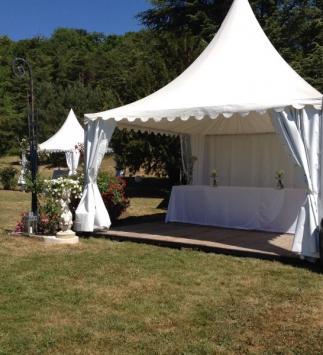 Réception de mariage au Château de Bligny - Vin d'honneur