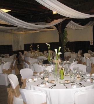 Réception de mariage au Domaine de Miltat à Pierry - Dîner