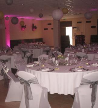 Réception de mariage chez Champagne Cartier à Epernay