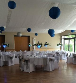 Réception de mariage à Jalons